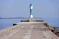 Lighthouse in Manitowoc Royalty Free Stock Images