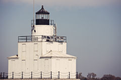 Lighthouse in Manitowoc, Wisconsin Stock Image