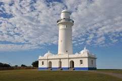 Lighthouse. Maquarie lighthouse in Sydney, Australia Royalty Free Stock Photography