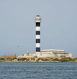 Lighthouse on the Mar Menor Royalty Free Stock Images