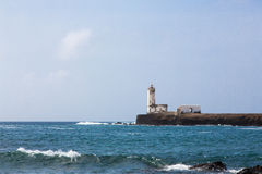 Lighthouse Maria Pia Stock Photos