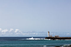 Lighthouse Maria Pia, Praia, Cape Verde Royalty Free Stock Photo