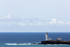 Lighthouse Maria Pia, Praia, Cape Verde. West Africa royalty free stock photography