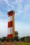 lighthouse in marina beach Stock Photos