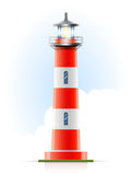 Lighthouse marine signal Stock Photo