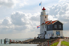 Lighthouse - Marken Royalty Free Stock Photos