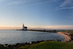 The Lighthouse of Marken Royalty Free Stock Photo