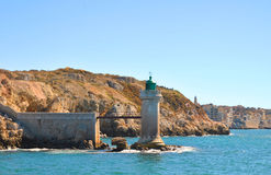 Lighthouse of Marseill old port Stock Photography