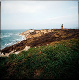 Lighthouse. A lighthouse on Martha`s Vineyard Royalty Free Stock Image