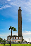 Lighthouse in Maspalomas (Faro de Maspalomas) on Grand Canary (Gran Canaria) stock photography