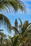 Lighthouse in Maspalomas (Faro de Maspalomas) on Grand Canary (Gran Canaria) royalty free stock image