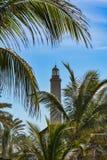 Lighthouse in Maspalomas (Faro de Maspalomas) on Grand Canary (Gran Canaria) Royalty Free Stock Image