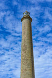 Lighthouse in Maspalomas (Faro de Maspalomas) on Grand Canary (Gran Canaria) royalty free stock photo