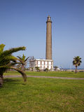 Lighthouse at Maspalomas, Grand Canary Royalty Free Stock Image