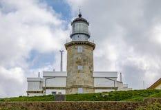 Lighthouse at Matxitxako, Cape Bermeo, Vizcaya,  Spain. Lighthouse at Matxitxako, Cape Bermeo, Vizcaya, Basque Country, Spain Stock Photos