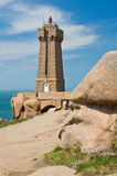 Lighthouse Men Ruz Royalty Free Stock Photography