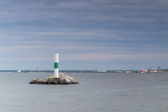 Lighthouse in Milwaukee, Wisconsin Royalty Free Stock Photography