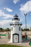 Lighthouse at a mini golf Royalty Free Stock Images