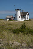 Lighthouse Missing Lantern on Cape Cod Royalty Free Stock Photography