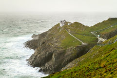 Lighthouse at Mizen Head Stock Images