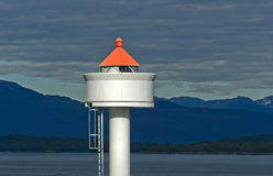 Lighthouse Molde Stock Photo