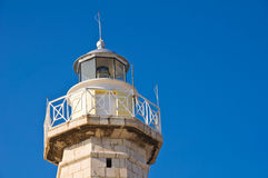 Lighthouse. Molfetta. Puglia. Italy. Stock Photo