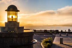 Lighthouse monument Stock Photos