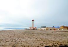 Lighthouse Monumental La Serena Royalty Free Stock Images