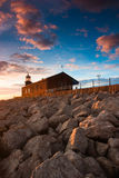 Lighthouse - Morecambe Bay Stock Image