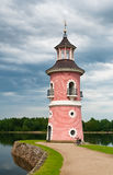 Lighthouse in Moritzburg Royalty Free Stock Image