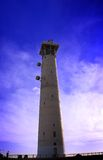 Lighthouse, Morro de Jable, Jandia playa, Fuerteve Royalty Free Stock Photography