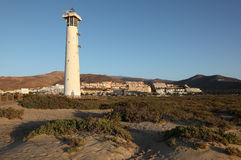 Lighthouse in Morro Jable, Fuerteventura Stock Photos