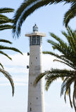 Lighthouse at Morro Jable, Fuerteventura Stock Image