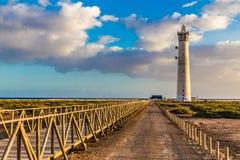 Lighthouse - Morro Jable, Fuerteventura, Spain Royalty Free Stock Image