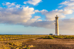 Lighthouse - Morro Jable, Fuerteventura, Spain Royalty Free Stock Image