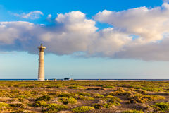 Lighthouse - Morro Jable, Fuerteventura, Spain Royalty Free Stock Images