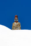 Lighthouse in mountain Stock Photo