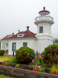 The Lighthouse at Mukilteo Royalty Free Stock Photo