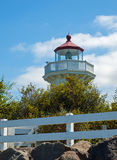 The Lighthouse at Mukilteo Stock Images