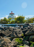 The Lighthouse at Mukilteo Royalty Free Stock Photos