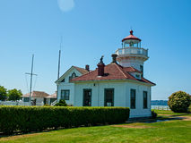 The Lighthouse at Mukilteo Stock Image