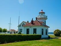 The Lighthouse at Mukilteo Stock Image