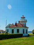 The Lighthouse at Mukilteo Royalty Free Stock Photos
