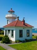 The Lighthouse at Mukilteo Stock Photo