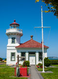 The Lighthouse at Mukilteo Stock Photos