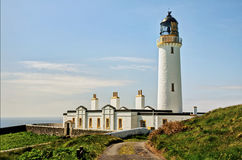 Lighthouse on the Mull of Galloway Royalty Free Stock Photo