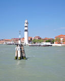 Lighthouse on Murano Island,Lagoon of Venice,Italy Royalty Free Stock Photo