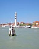Lighthouse on Murano Island,Lagoon of Venice,Italy Royalty Free Stock Photo