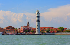 Lighthouse, Murano island Stock Photos