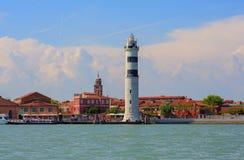 Lighthouse, Murano island stock photos